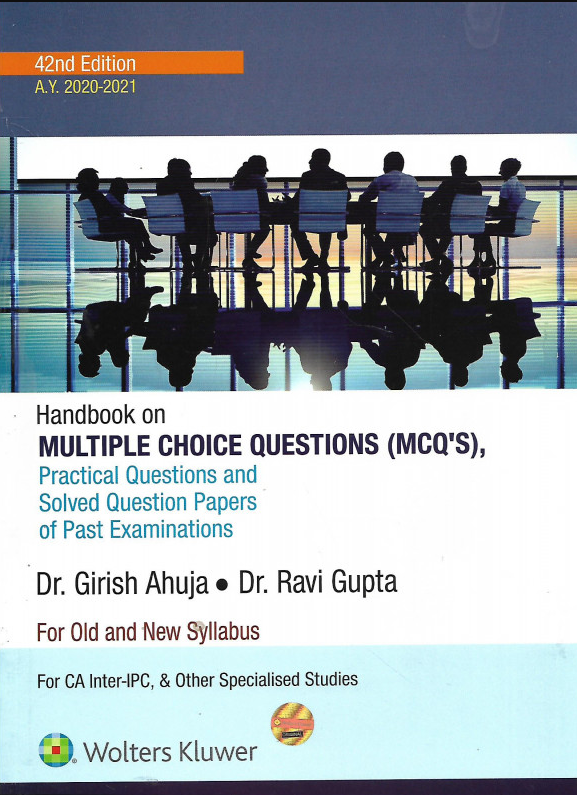 CA Inter/ Ipcc CCH Sytematic Approach To Taxation Containing Income Tax & GST With MCQs  Old And New Syllabus For May 2020 Exams By Girish Ahuja Ravi, gupta