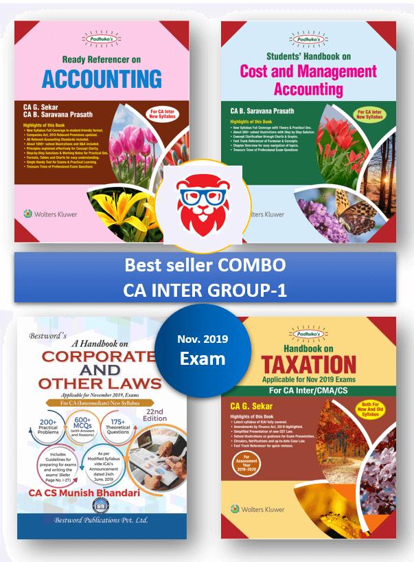 See all CA/CS/CMA BOOKS products | Lionkart