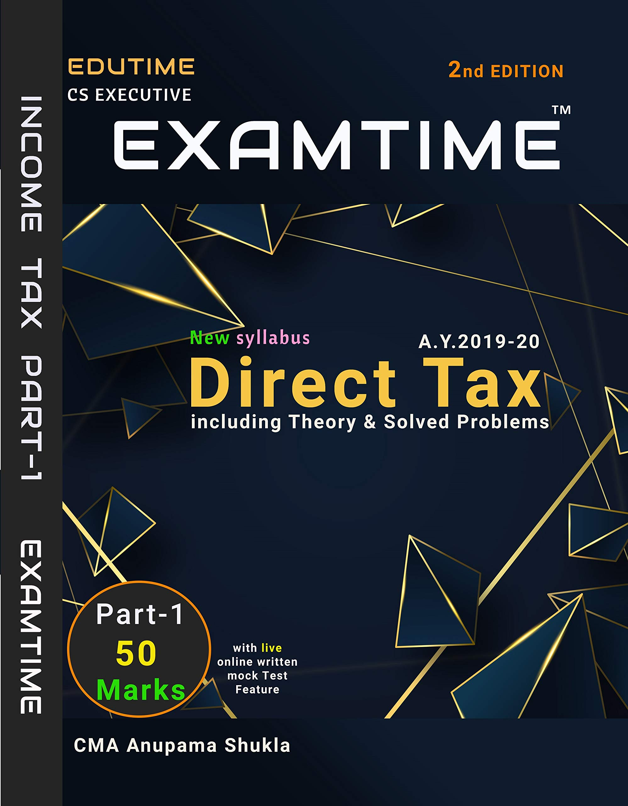 Buy TAX LAWS AND PRACTICE -MCQS FOR CS EXECUTIVE BY YOGENDRA BANGAR