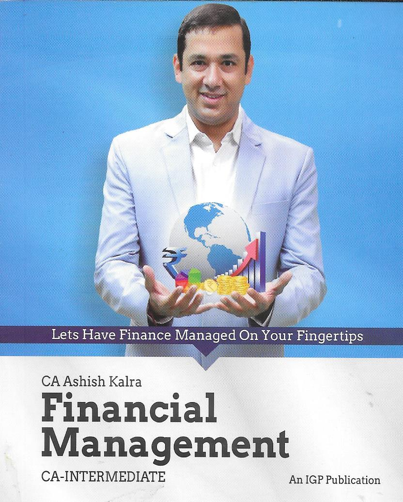 Financial Management  with Pocket Book CA Intermediate By Ashish kalra